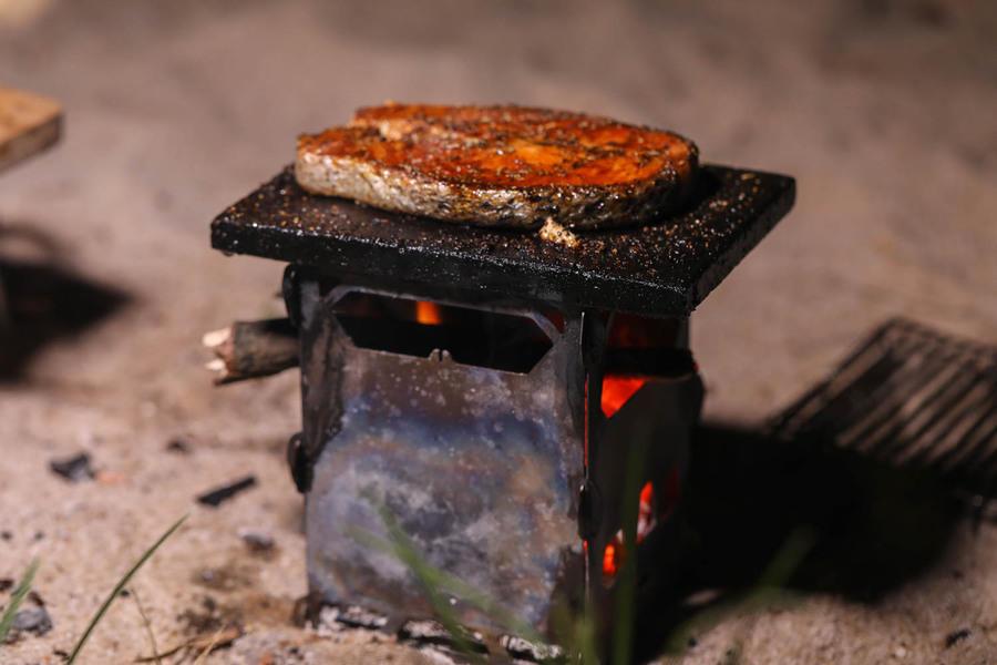 鎧斯 keith Ti2201 鈦合金戶外柴火爐